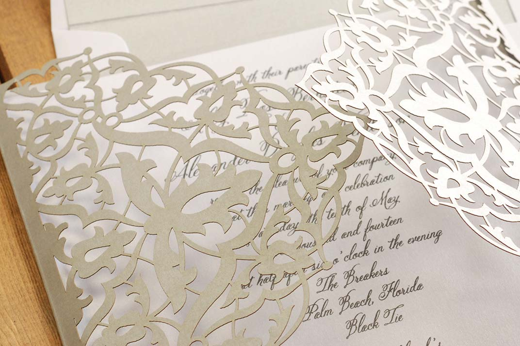 wedding invitation, scarsdale, ny